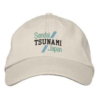 TSUNAMI-Kappe Bestickte Baseballkappe
