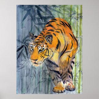 Tsuyako Tiger-Plakat Poster