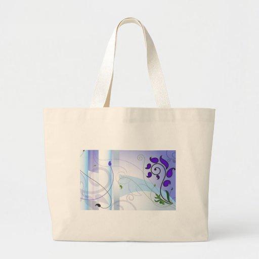 tu sois stylisé - styish flowers sac fourre-tout