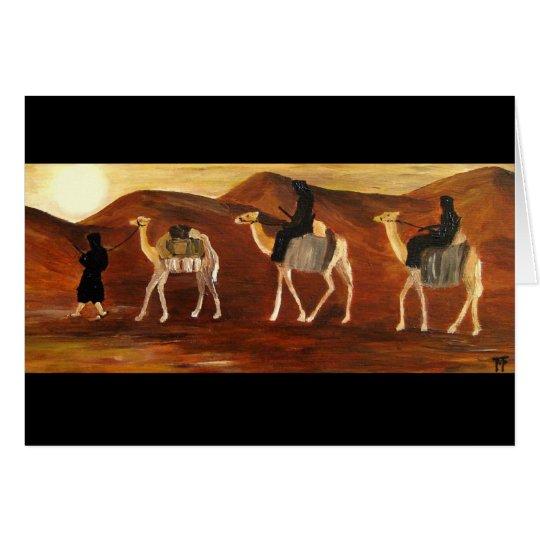 Tuaregs-Grußkarte Grußkarte