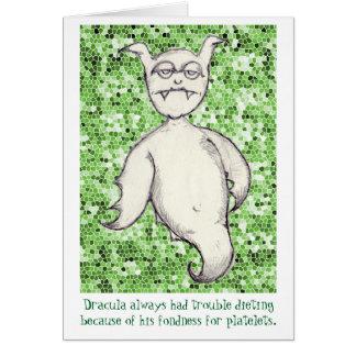 Tubby Teufel Mitteilungskarte