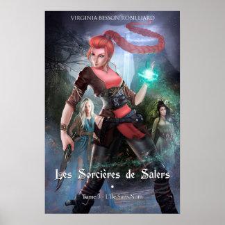 Tuch die Hexen von Salers Tome 3 einzurahmen Poster