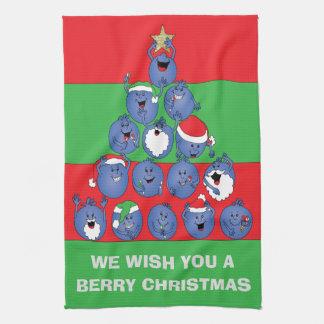"""Tücher """"Beeren-Weihnachten """""""
