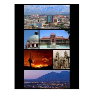 Tucson, Arizona Postkarte
