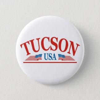 Tucson Arizona USA Runder Button 5,1 Cm