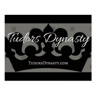Tudors Dynastie-Postkarte Postkarte