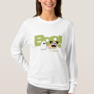 Tugg Boo! Weiße T - Shirts (Grün)