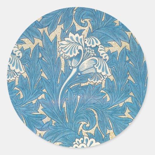 Tulipe de William Morris - autocollant