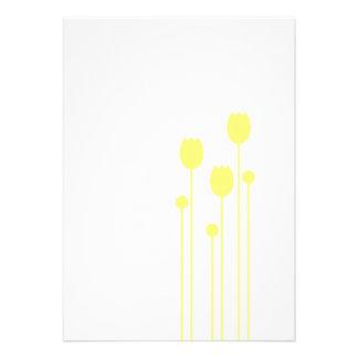 tulipe fleur blumenstrauß tulipes des étés flower  invitation personnalisée