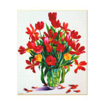 Tulipes Impression Sur Toile