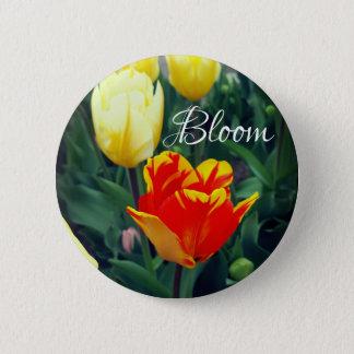 Tulpe-Blüte Runder Button 5,1 Cm