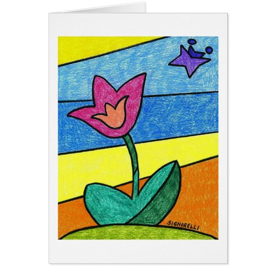 """""""Tulpe-"""" Karte"""