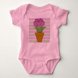 Tulpen Baby Strampler