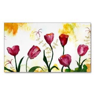 Tulpen Magnetische Visitenkarten