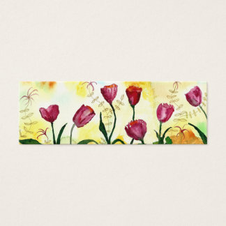Tulpen Mini Visitenkarte