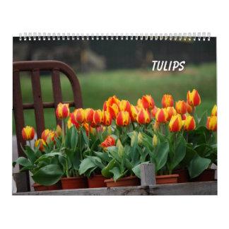 Tulpen Wandkalender