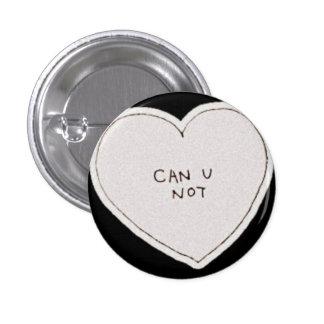 Tumblr kann Sie nicht knöpfen Runder Button 3,2 Cm