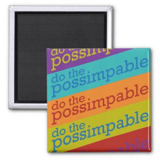 Tun Sie den Possimpable Magneten Quadratischer Magnet