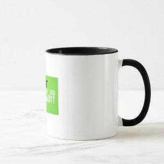 Tun Sie es motivierend Tasse