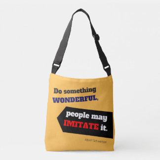 Tun Sie etwas wunderbare Tasche