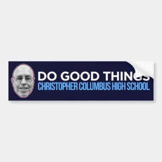 Tun Sie gute Sachen (Öffentlichkeit - Verkäufe zum Autoaufkleber