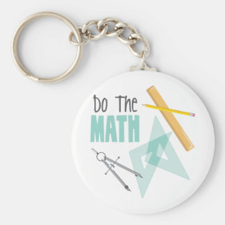 Tun Sie Mathe Schlüsselanhänger