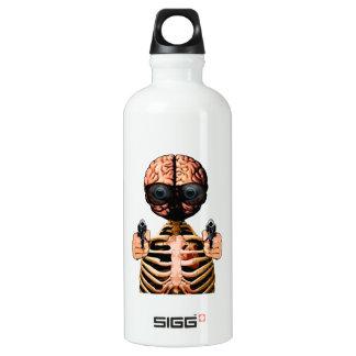Tun Sie, was Ihr Gehirn sagt Aluminiumwasserflasche