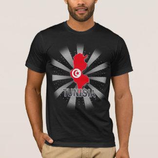 Tunesien-Flaggen-Karte 2,0 T-Shirt