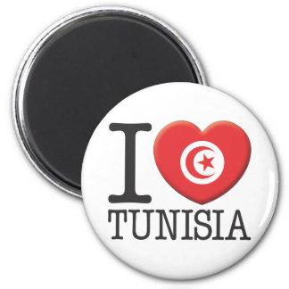 Tunesien Runder Magnet 5,7 Cm
