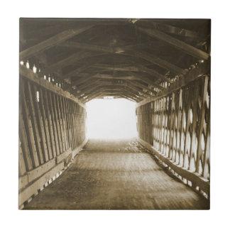 Tunnel des Lichtes Keramikfliese