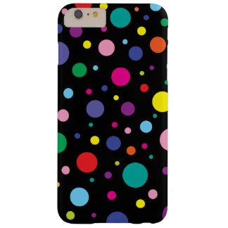 Tupfen-| kundengebundene Hintergrund-Farbe Barely There iPhone 6 Plus Hülle