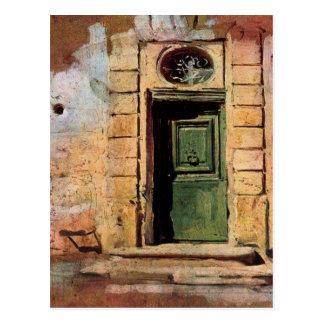 Tür in Montmartre durch Giovanni Boldini Postkarte