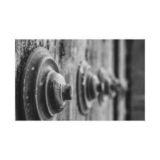Tür-Leinwand Leinwanddruck