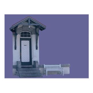 Tür Postkarte