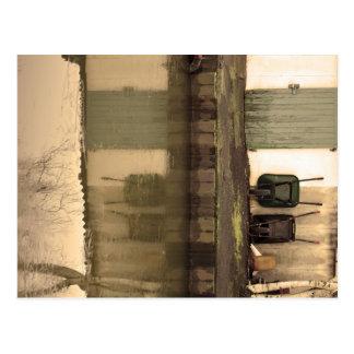 Tür und Karren Postkarte