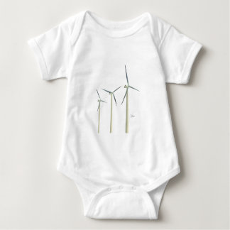 Turbine de vent tee shirts