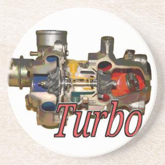 Turbo-Untersetzer Sandstein Untersetzer