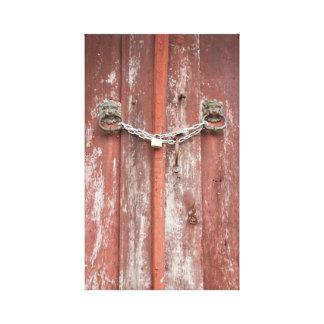 Türen Leinwanddruck