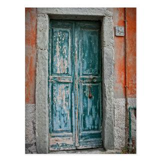 Türen von Italien - das Cinque Terre - Postkarte