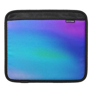 Türkis-Aqua-blaue lila und tadellose abstrakte Sleeves Für iPads