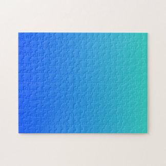Türkis-Blau Ombre