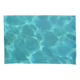Türkis-blaues Wasser-Kissenbezug Kissen Bezug