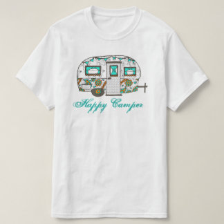 Türkis-Menschen-T-Stück T-Shirt