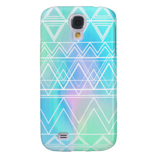Türkis-multi Stammes- Galaxy S4 Hülle