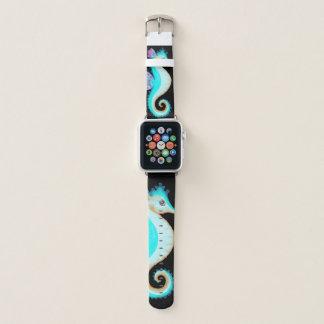 Türkis-Seepferd Apple Watch Armband