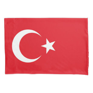 Türkische Flagge Kissenbezug