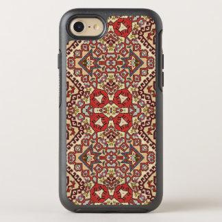 Türkische Wolldecke in Rotem, in der Beige und im OtterBox Symmetry iPhone 8/7 Hülle