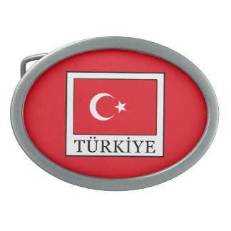 Türkiye Ovale Gürtelschnallen