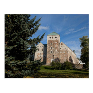 Turku, Finnland, altes Turun Linna Schloss, a Postkarten