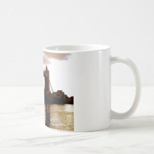 Turm-Brücke 2 Kaffeetasse